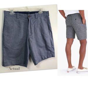 "J. Crew  Gramercy 9"" Cotton Shorts"